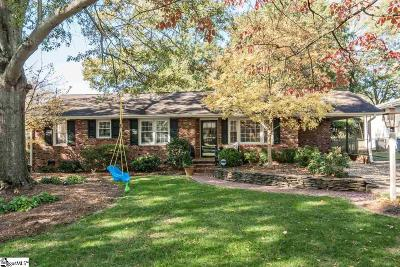 Greenville Single Family Home Contingency Contract: 408 Wembley