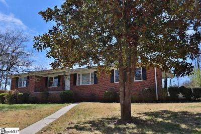 Greenville Single Family Home For Sale: 300 Richmond