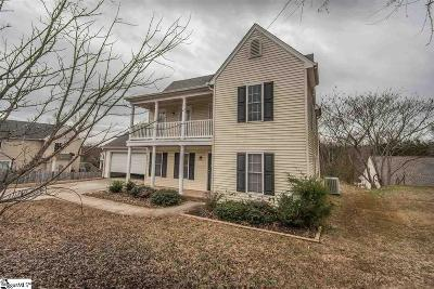 Easley Single Family Home Contingency Contract: 105 Glazed Oak