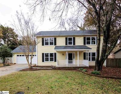 Greer Single Family Home For Sale: 103 Hancock