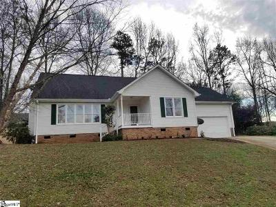 Simpsonville Single Family Home For Sale: 241 Waterbury