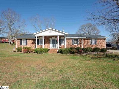 Boiling Springs Single Family Home For Sale: 1661 Hanging Rock