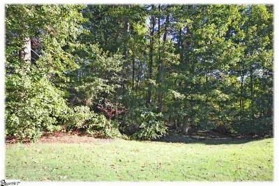 Greer Residential Lots & Land For Sale: 632 Driftwood