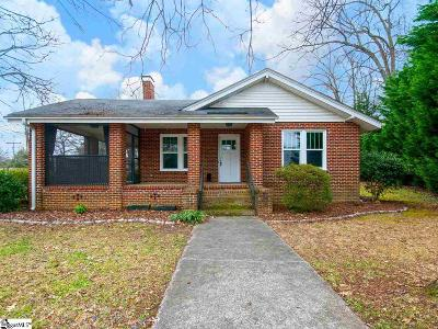 Greenville Single Family Home For Sale: 636 Summit