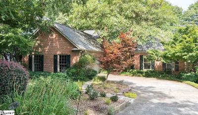 Greenville Single Family Home For Sale: 118 Hidden Hills