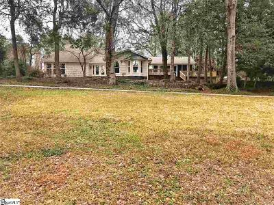 Easley Single Family Home For Sale: 102 Crawford Lake