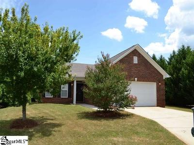 Simpsonville Rental For Rent: 202 Mare