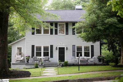Greenville Single Family Home For Sale: 9 Vannoy