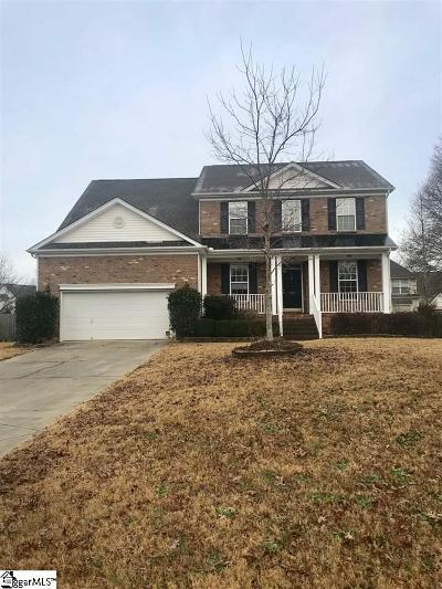 Simpsonville Single Family Home For Sale: 320 Stayman