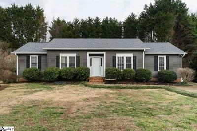 Greenville County Single Family Home Contingency Contract: 109 Dawes