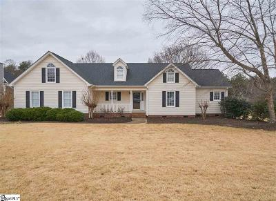 Greer Single Family Home Contingency Contract: 817 Mountain View