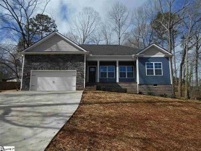 Easley Single Family Home For Sale: 108 McArthur
