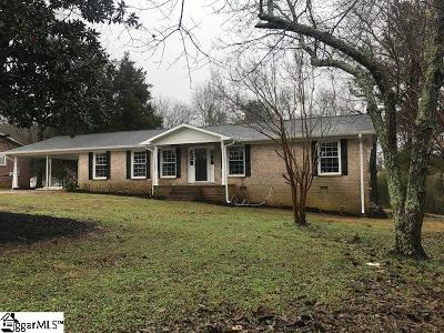 Greenville County Single Family Home For Sale: 518 Emily