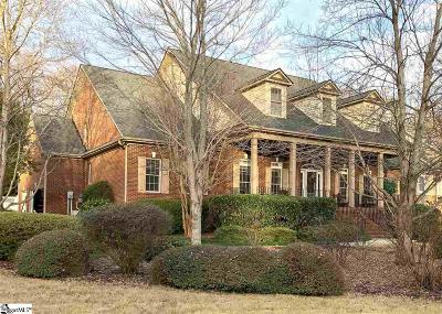 Simpsonville Single Family Home For Sale: 9 Sycamore Ridge