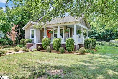 Greer Single Family Home Contingency Contract: 104 N Beverly