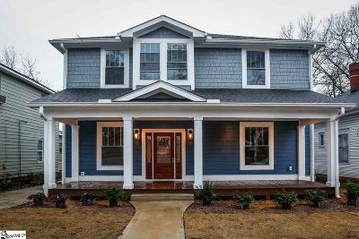 Downtown Single Family Home For Sale: 17 Woodfin