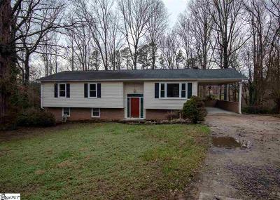 Greenville Single Family Home For Sale: 114 Sunderland
