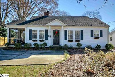 Greenville Single Family Home Contingency Contract: 409 Parkins Mill
