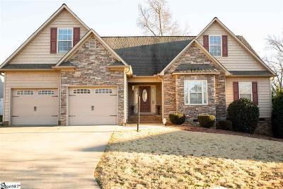 Boiling Springs Single Family Home For Sale: 707 Secretariat