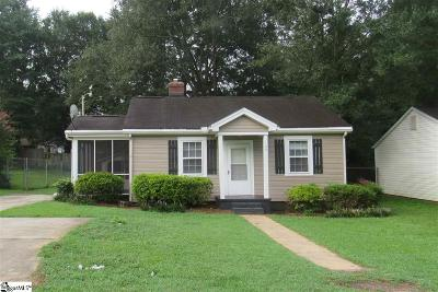 Easley Single Family Home For Sale: 109 Augusta