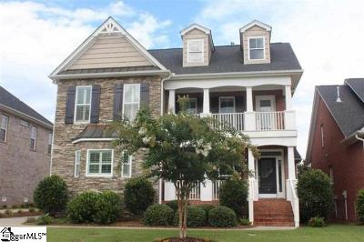Greenville Single Family Home For Sale: 10 Parkhaven