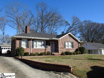 Laurens Single Family Home Contingency Contract: 113 Moreland