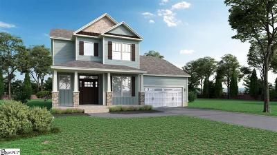 Greenville County Single Family Home For Sale: 501 Longfellow #Lot 36