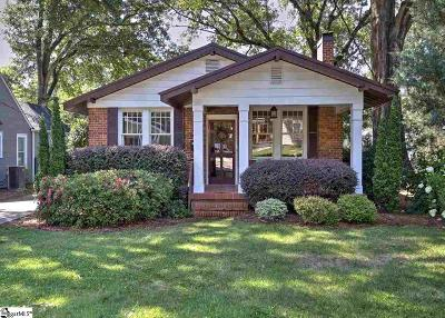 Greenville Single Family Home For Sale: 204 Stewart