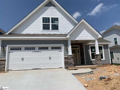 Simpsonville Single Family Home For Sale: 437 Longfellow #Lot 34