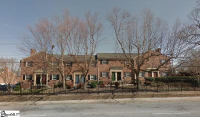 Greenville County Condo/Townhouse Contingency Contract: 2530 E North #1 D