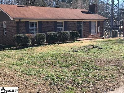 Greer Single Family Home Contingency Contract: 127 Circle