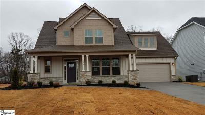 Boiling Springs Single Family Home For Sale: 921 Hunterdale #Lot 365