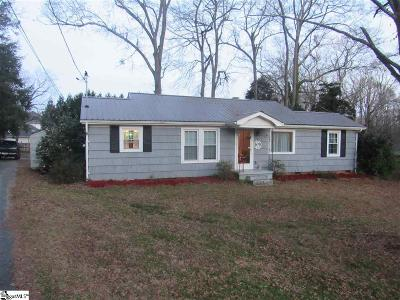 Simpsonville Single Family Home For Sale: 216 S Pliney