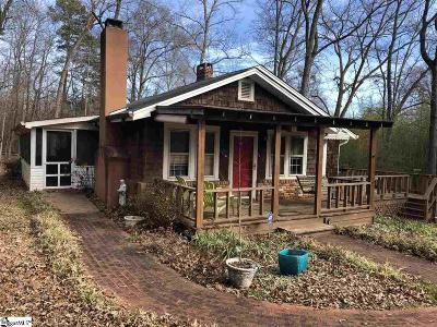 Spartanburg Single Family Home Contingency Contract: 391 Shady Acres