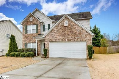 Easley Single Family Home Contingency Contract: 136 Spirit Mountain