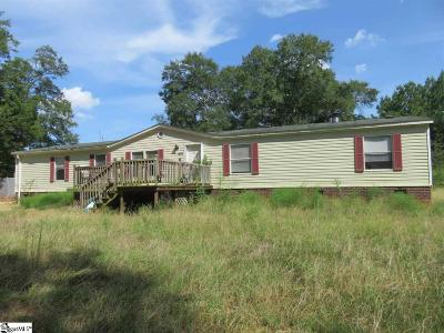 Greenville County Mobile Home For Auction: 431 Reedy Fork