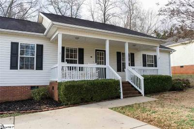 Greer Single Family Home Contingency Contract: 114 Edwards
