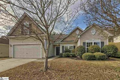 Greer Single Family Home For Sale: 308 Yellow Rose