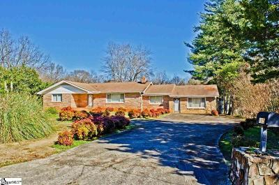 Simpsonville Single Family Home Contingency Contract: 115 Fairlane