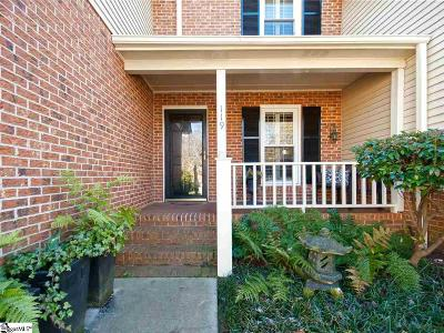 Greenville Condo/Townhouse For Sale: 119 McDaniel Greene