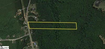 Laurens Residential Lots & Land For Sale: Boyds Mill Pond