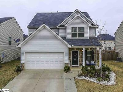 Greenville County Single Family Home For Sale: 323 Barrett Chase