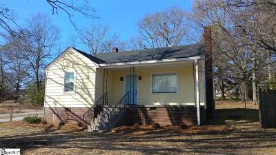Greenville Single Family Home For Sale: 2101 State Park