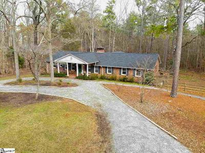 Laurens Single Family Home For Sale: 254 Lakewood