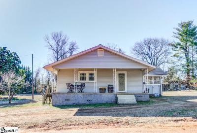 Greenville Single Family Home For Sale: 328 Old Dunham Bridge