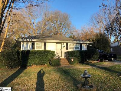 Greenville Single Family Home Contingency Contract: 105 Flora