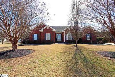 Greer Single Family Home For Sale: 705 Brookdale