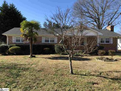 Simpsonville Single Family Home For Sale: 402 Reeves