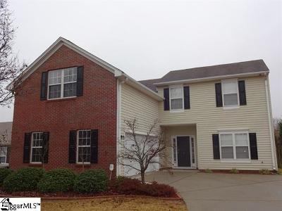 Simpsonville Rental For Rent: 6 Shelby