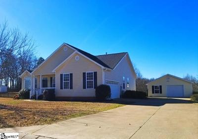 Greer Single Family Home Contingency Contract: 9 Rustcraft